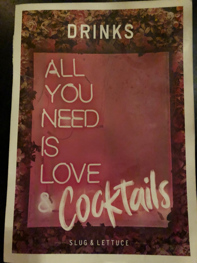 All You Need Is Love & Cocktails