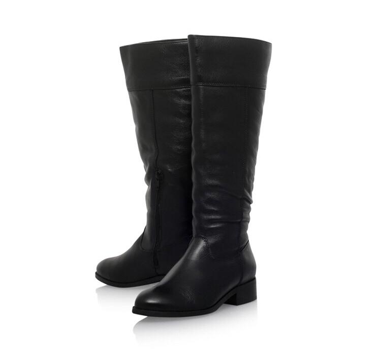 Carvela Black Tock Boots