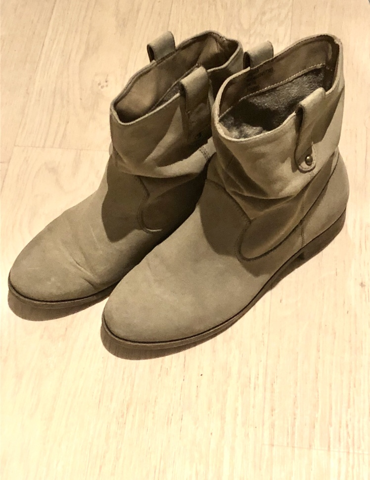 Grey George Asda Boots
