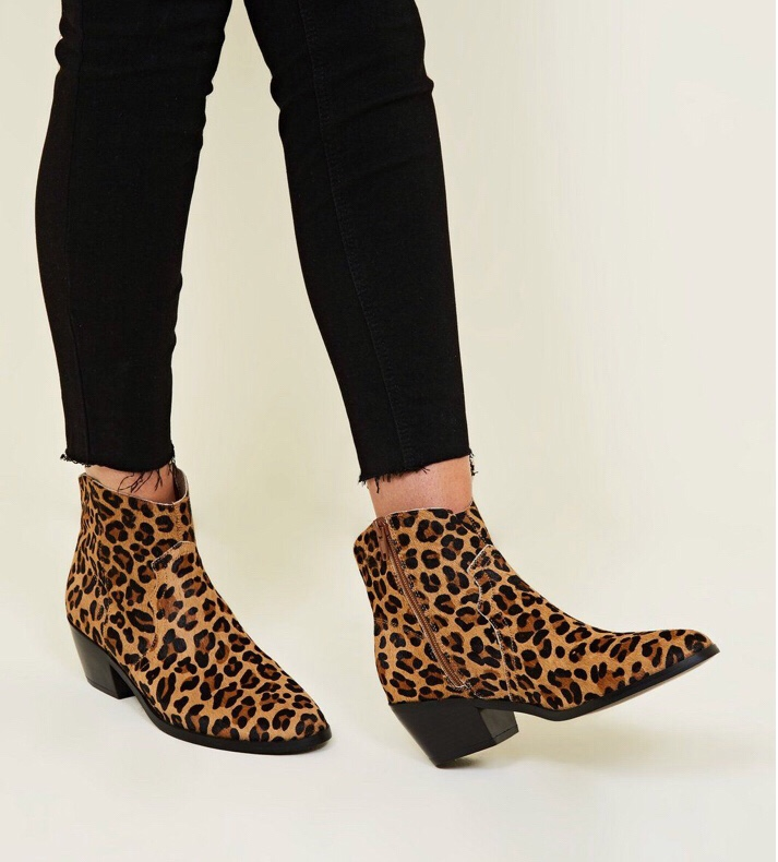 New Look Leopard Boots