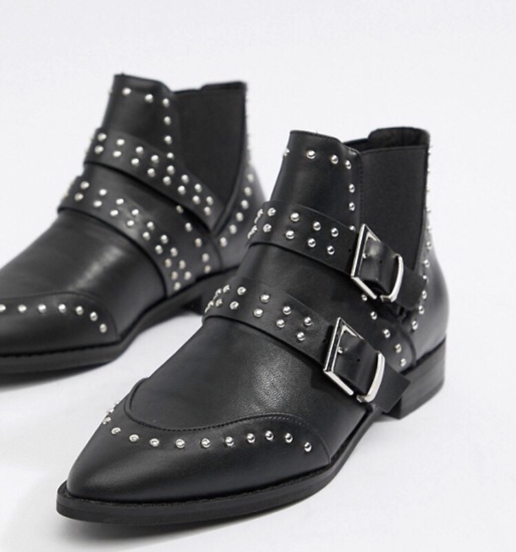 ASOS Studded Boots