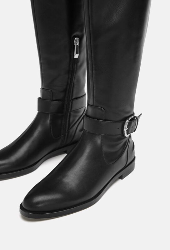 Zara Boots with Buckle