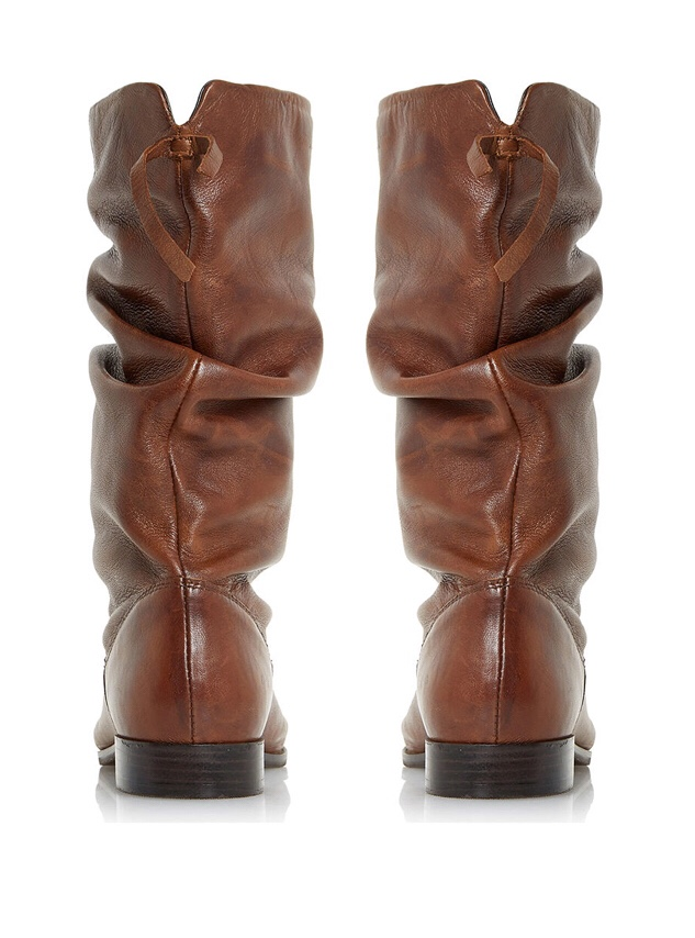 Dune Rosalindd Ruched Claf Boots